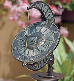 beautiful sundial