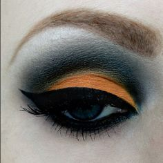 I like the dark blue and bright orange