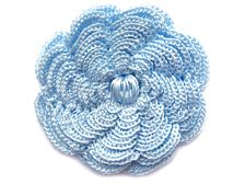 MyPicot is always looking for excellence and intends to be the most authentic, creative, and innovative advanced crochet laboratory in the world. Crochet Squares Afghan, Crochet Motifs, Crochet Flower Patterns, Crochet Cross, Crochet Stitches Patterns, Irish Crochet, Crochet Flowers, Fabric Flowers, Stitch Patterns
