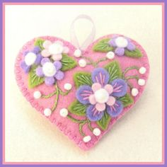 Jolion Happy Heart Violet Flower by Jolion., via Flickr