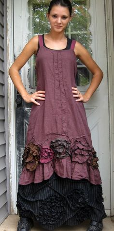 sarah clemens - too young for me, but lovely and my style Gypsy Style, Bohemian Style, Boho Chic, Hippie Chic, Hippie Style, Hippie Masa, Ropa Shabby Chic, Beautiful Outfits, Cool Outfits