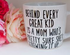 behind every great kid mug at avonnie studio | baby shower gift guide
