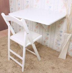 SoBuy® Wall-mounted Drop-leaf Table, Folding Table Desk. $45
