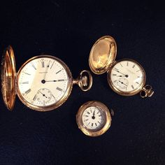 What time is it? Time to add more vintage and antique pieces to our Etsy store! #SJJewelers #SmokinJoes #Jewelry #etsy #vintage #antique #pocketwatch #waltham #elgin
