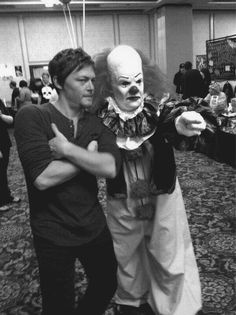 He did it Norman he said I look scary