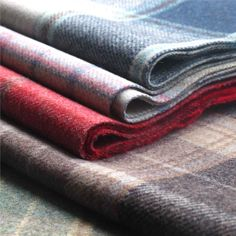 Iona from Loome http://www.loomefabrics.co.uk/shop/collections-iona-plaid-wool-curtain-upholstery-fabric.html