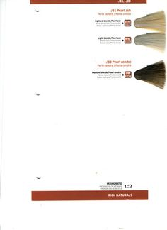 Wella Color Charm Demi-Permanent Haircolor Shade Palette + Additives ...