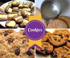 ¡COOKIES! Aquí tienes muchas recetas de galletitas o masitas, para hacer en la tarde del sábado! ---> http://www.solopostres.com/rr89.html