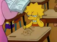 Lisa Simpson shared by sophinie on We Heart It Cartoon Wallpaper Iphone, Sad Wallpaper, Lisa Simpson, Bart E Lisa, Simpsons Simpsons, Simpsons Quotes, Simpson Tumblr, Photo Deco, Old School Cartoons