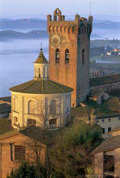 San Miniato, Pisa, Tuscany Italia.