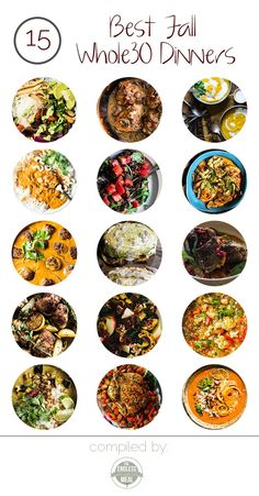 Fall is all about comfort food and the 15 Best Fall Whole30 Dinner Recipes will keep you satisfied and healthy. You will love it!