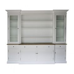 Create classic-factor to your room with La Joie Living Hampton Style Buffet Sideboard and Glass Hutch Bookcase. La Joie Living French Provincial & Hamptons Furnitures are unique pieces for your home. This range includes Classic Dressers, B...