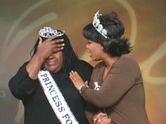 Another favorite Oprah memory! Fannie, Princess for a day.