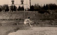 Plaine des Sports avec la rue des Villas en arrière plan +/_ 1960 seraing athletique