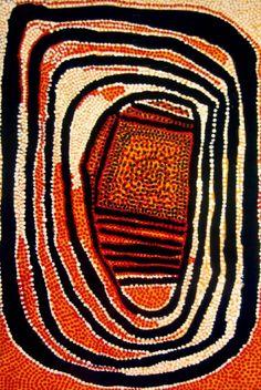 Old Tutuma Tjapangati // Eagle Dreaming, 1974