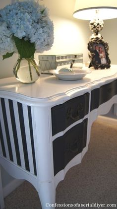 Dressing Table Makeover - Confessions of a Serial Do-It-Yourselfer