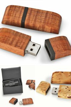 These beautiful USB sticks are made from either salvaged Huon Pine, or from sustainably salvaged fiddleback Blackwood. The precise fit of the two parts is perfect and a stealthy tiny earth magnet holds the two sections together invisibly.