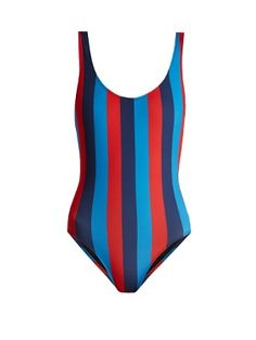 Click here to buy Solid & Striped The Anne-Marie striped swimsuit at MATCHESFASHION.COM