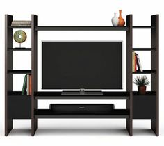 Semblance Home Theatre System by BDI in Espresso Stained Oak #hometheater #furniture #theatersystem