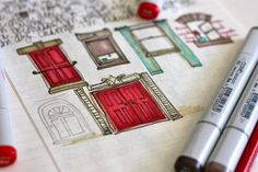 Art Journal...windows and doors