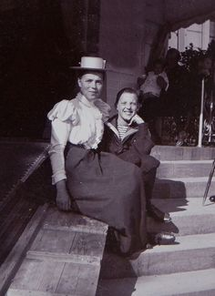 Grand Duchess Olga of Russia and cousin Prince Aage of Denmark