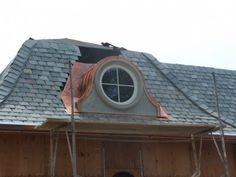 Prefabricated dormers standard dormers roof dormers for Prefab eyebrow dormer