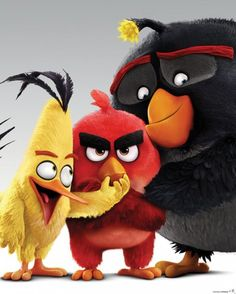 Angry Birds - Characters - Official Mini Poster. Official Merchandise. FREE SHIPPING