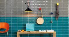 Tiles | Liverpool Vert Armée + Bleu Saint Tropez