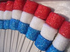 Marshmallow Pops Sugar Coated Red White and Blue Sugar Coated Marshmallow Pops July Pops 1 dozen Avengers Birthday, Superhero Birthday Party, Birthday Parties, Cake Birthday, 5th Birthday, Captain America Party, Captain America Birthday, Wonder Woman Birthday, Birthday Woman