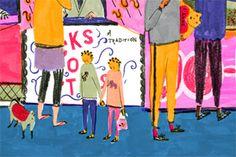 Mouni Feddag Illustration – Goose Fair