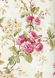 CHELSEA GARDENS Fine DecorDE40847 #quaint #floral #vintage