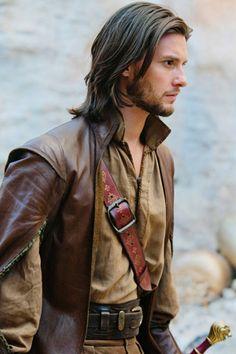 Ben Barnes as King Caspian