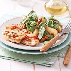 Escalopes de poulet, sauce aux échalotes et bacon - Soupers de semaine - Recettes 5-15 - Recettes express 5/15 - Pratico Pratique