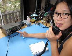 Diana Eng runs through the basics of how to set up a traditional HF amateur ham radio station at home.