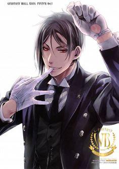 Image de kuroshitsuji, anime, and black butler