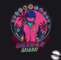 Deadly Miami on Behance