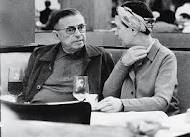 The love story of Simone de Beauvoir and Jean Paul Sartre, and their lifelong open relationship. Jean Paul Sartre, Book Writer, Book Authors, Les Deux Magots, Feminist Theory, Female Poets, Culture Art, Writers And Poets, Romance