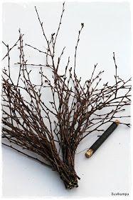 Suvikumpu: Risusydämen ohje II Twig Crafts, Crafts To Do, Easter Crafts, Christmas Crafts, Diy 2019, Garden Workshops, Willow Weaving, Twig Wreath, Gardens