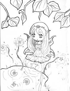 Anime Chibi Boy Coloring Pages