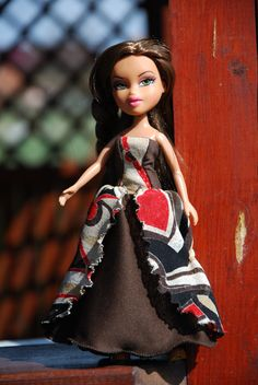 Bratz 10 handmade ball gowns by LucieVran on Etsy Bratz Doll, Brown Dress, All Things, Ball Gowns, Handmade, Stuff To Buy, Etsy, Dresses, Fashion