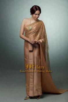 ชุดแต่งงานไทยจักรพรรดิสีโอโรส