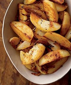 Potatoe Fries - these are also really good when you coat them with Onion Soup Mix - a great cast iron/dutch oven item