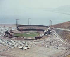 Candlestick Park (San Francisco), in the 1960s.