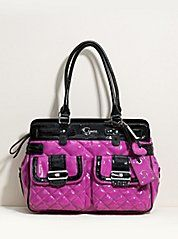 I love my Guess purses but I really need a new one...this one would look great in my collection ;)