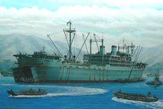 Buque de desembarco Settsu Maru