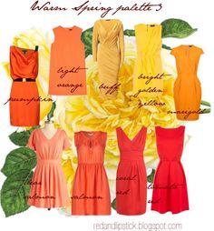 """Warm Spring palette 3"" by carolgrant on Polyvore"