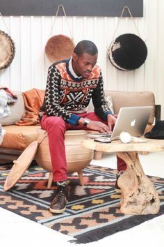 IKEA is launching an Africa Collection in 2019 in cooperation with 12 African Designers. Read more about IKEA's Africa Collection here. African Print Fashion, Tribal Fashion, Best Books For Men, Safari Decorations, African Men, African Style, African Diaspora, Black Couples, Men Design