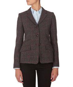 Grey & blue tweed wool blazer Sale - Gant Sale