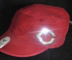 Cincinnati Reds Womens Bling Cadet Hat...