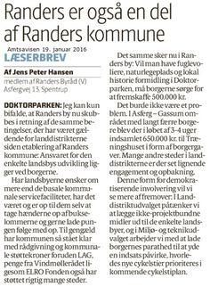 Det er nyt, at det er kommunen, der igangsætter en indsamling (til Doktorparken) men det er absolut ikke noget nyt i, at borgerne bidrager til det de gerne vil have ud over det basale.